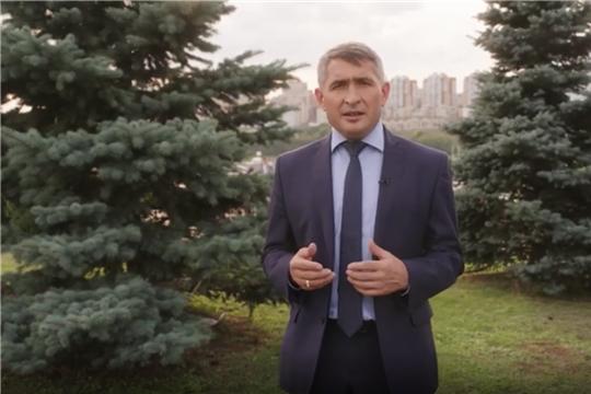 Олег Николаев поздравляет с 400-летием г. Мариинский Посад
