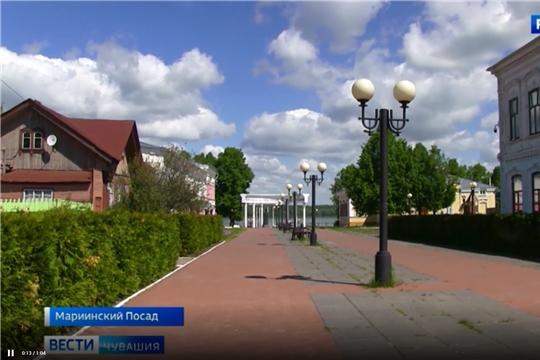 Мариинский Посад стал одним из победителей Всероссийского конкурса «Формирование комфортной городской среды».