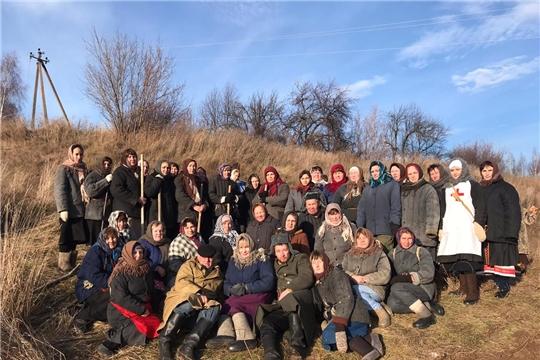 Мариинско-Посадский район присоединился к акции памяти «Строителям безмолвных рубежей…»