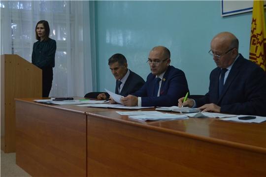 Мариинско-Посадское районное Собрание депутатов провело очередное заседание