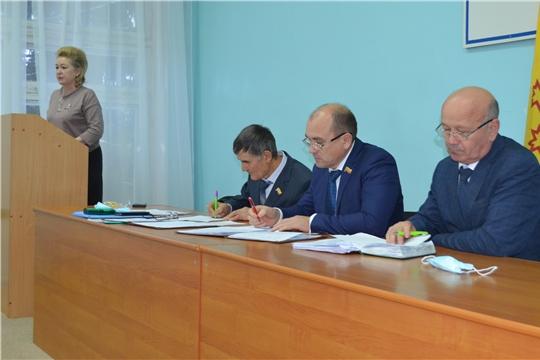 Депутаты Мариинско-Посадского районного Собрания депутатов провели очередное заседание