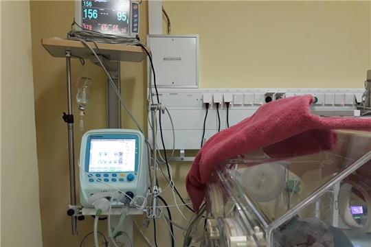 Новые аппараты ИВЛ успешно используются в отделении реанимации и интенсивной терапии новорожденных