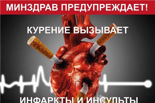 Курение - причина инфаркта и целого «букета» сердечно-сосудистых заболеваний