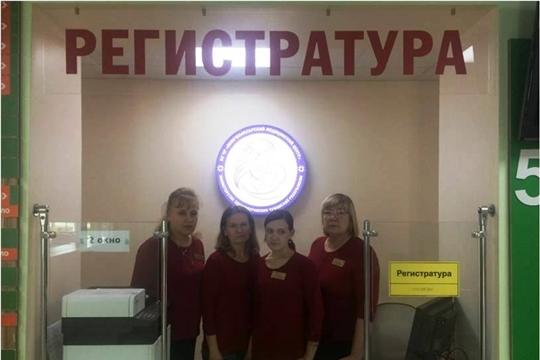 ДО/ПОСЛЕ регистратура детской поликлиники Новочебоксарского медицинского центра