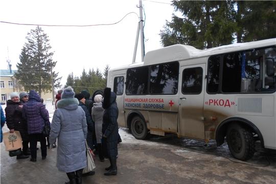 Передвижной маммограф сделал остановку в Мариинско-Посадском районе