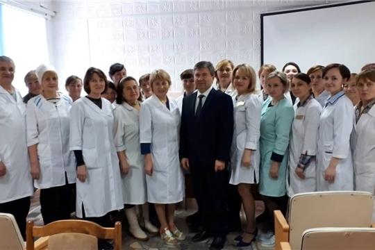 Выездной прием онкологов в Красночетайском районе