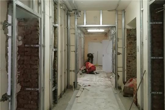 Благодаря капитальному ремонту в поликлинике № 1 Второй городской больницы станет уютнее