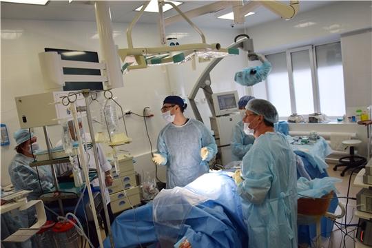 Региональный сосудистый центр переоснащен оборудованием в рамках Национального проекта «Здравоохранение»