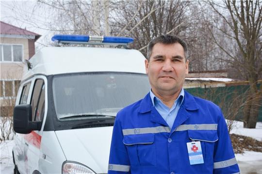 Бригада скорой помощи в Вурнарах спасла мужчину после 7 минут клинической смерти