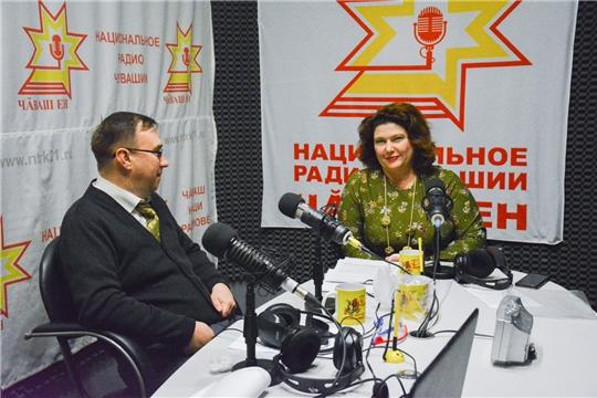 Интервью с Ольгой Краузе на Национальном радио Чувашии