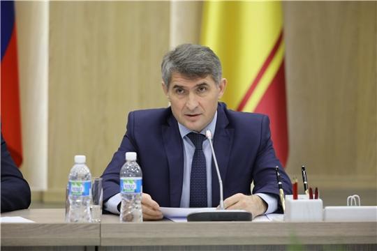 Олег Николаев предложил организовать выпуск медицинских масок на производственных мощностях Чувашской Республики