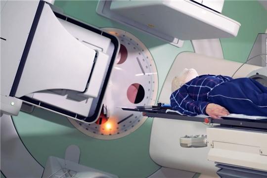 В год в отделении радиотерапии проходят лечение более одной тысячи пациентов