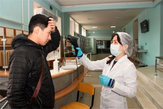 Волонтеры-медики заботятся о нашем здоровье