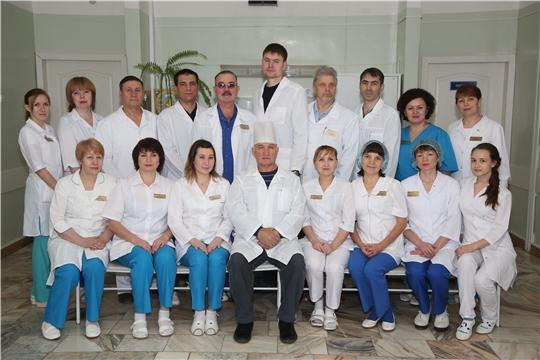 Нейрохирургическому отделению Республиканской клинической больницы – 55 лет