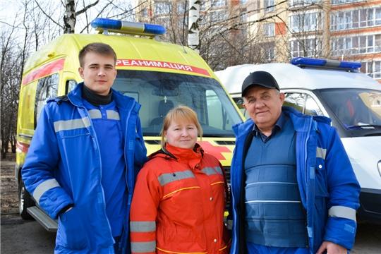 За три месяца реанимационная бригада в Новочебоксарске помогла 814 людям
