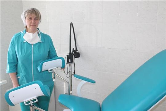 Вот Уже 20 лет медицина - призвание акушерки Алатырской больницы Ларисы Николаевой