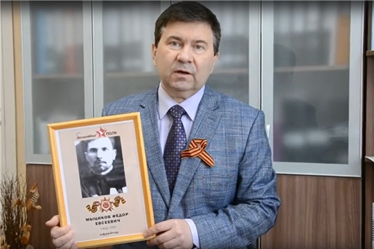 """Коллектив онкодиспансера участвует в онлайн акции """"Бессмертный полк"""""""