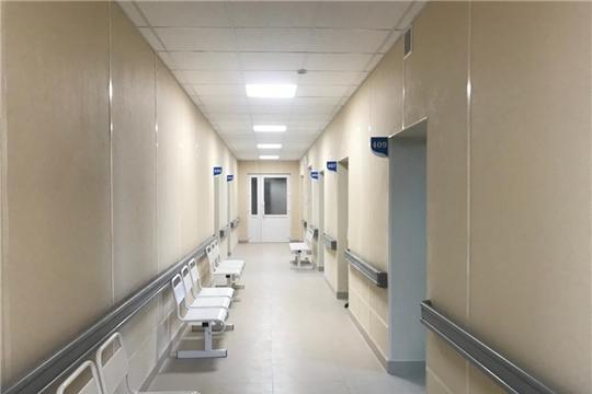 Поликлиника №1 Второй городской больницы почти готова к открытию после капитального ремонта
