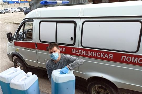 Бороться с коронавирусом медицинским работникам Чувашии помогает химическая промышленность республики