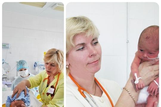 Заведующая отделением перинатального центра ГКБ №1, Заслуженный врач Чувашской Республики Татьяна Полякова отпраздновала 55-летний юбилей