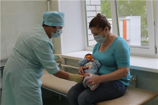 В детской поликлинике Новочебоксарского медицинского центра возобновилась вакцинация детей