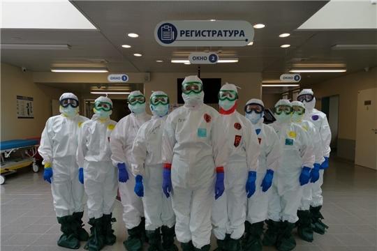 В Чувашии создан запас защитных средств для медперсонала