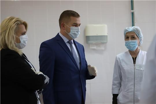 Министр здравоохранения Чувашии с рабочим визитом посетил Мариинско-Посадскую центральную районную больницу