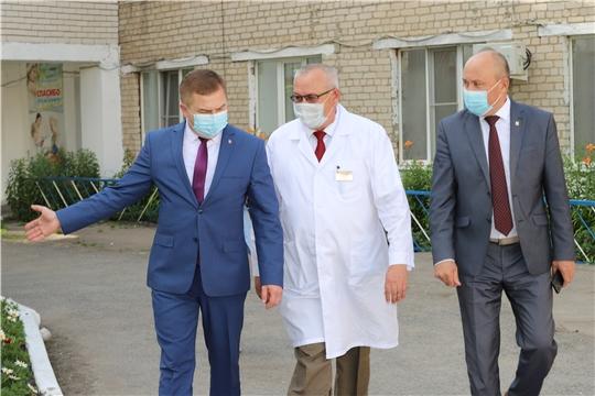Министр здравоохранения Чувашии Владимир Степанов посетил Батыревский район