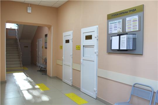 Ремонт лаборатории в Первой Чебоксарской городской больнице им. П.Н. Осипова