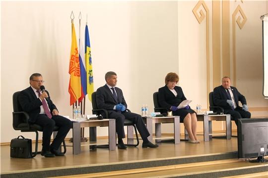 В Новочебоксарске обсудили будущее моногорода в рамках Комплексной программы развития Чувашии