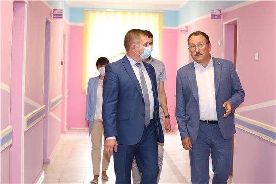 Министр здравоохранения Чувашии с рабочим визитом посетил Шумерлинский и Порецкий районы