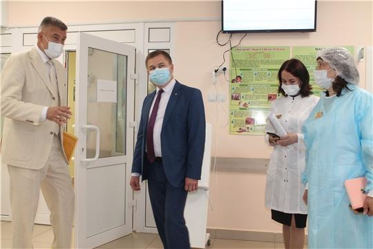 Министр здравоохранения Чувашии в Чебоксарском, Цивильском и Мариинско-Посадском районах