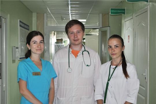 Городская клиническая больница №1 пополняется молодыми специалистами