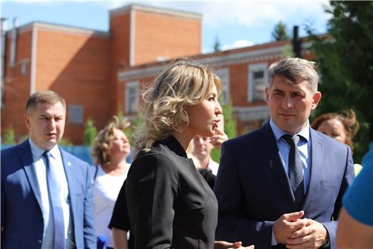 """Врио Главы Чувашии и министр здравоохранения посетили санаторий """"Надежда"""""""