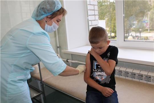 В Чувашии идет вакцинация детей и беременных против гриппа