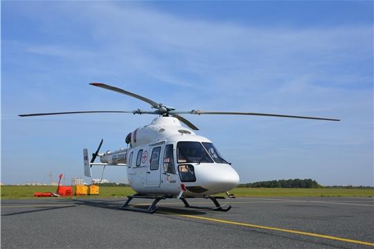 Вертолет для оказания скорой специализированной медицинской помощи