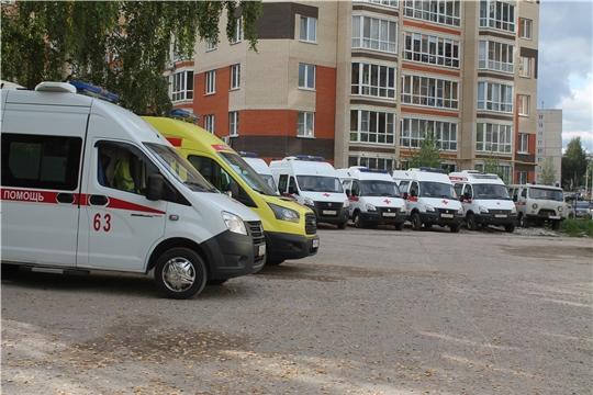 Завершился капитальный ремонт подстанции скорой помощи в Новочебоксарске