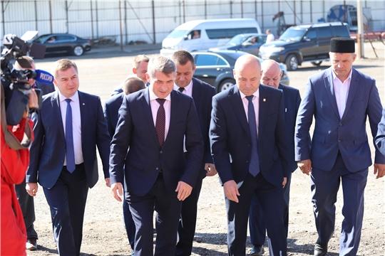 Выезд Главы Чувашии и министра здравоохранения Чувашии в Батыревский район