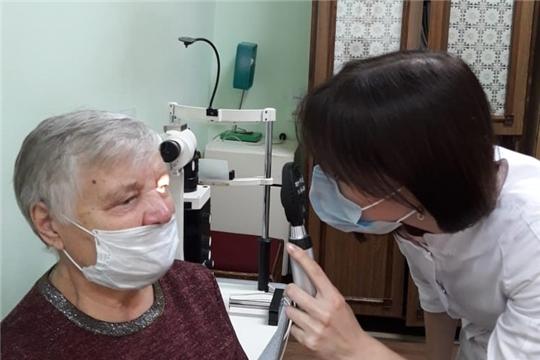 В офтальмологический кабинет Центральной городской больницы поступило новое оборудование