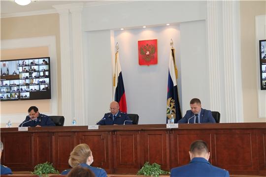 На совместной коллегии Прокуратуры и Минздрава Чувашии обсуждены предварительные итоги реализации нацпроекта «Здравоохранение»