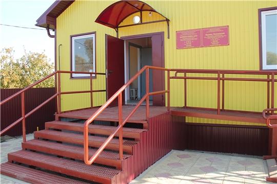 Министр проверил ход строительства ФАПа в Канашском районе деревни Вурман Янышево