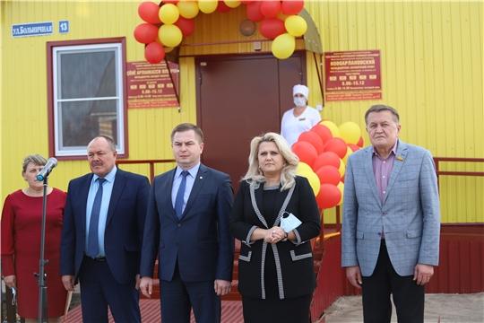 В Яльчикском районе открылся новый фельдшерско-акушерский пункт