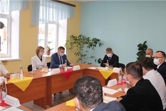 В Ибресинской ЦРБ завершается капитальный ремонт