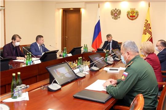 Министр здравоохранения ЧувашииВладимир Степановдоложил о текущей эпидемиологической ситуации в республике