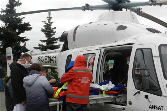 Пациент из Канашского района экстренно госпитализирован санавиацией в Республиканскую клиническую больницу