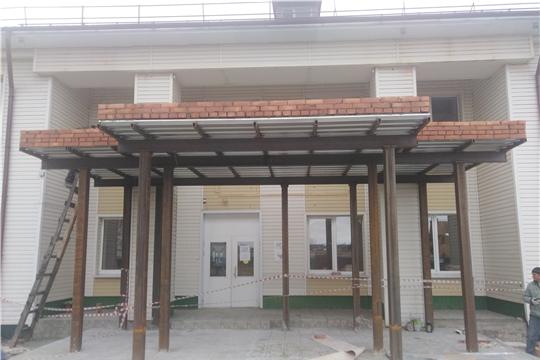 Продолжается капитальный ремонт детского отделения Шемуршинской районной больницы