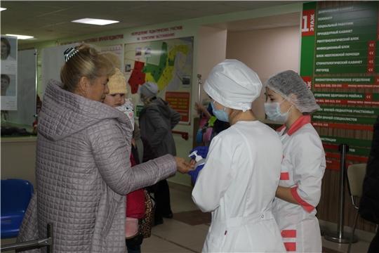 Волонтеры-медики помогают врачам Новочебоксарска в сложный период пандемии COVID-19