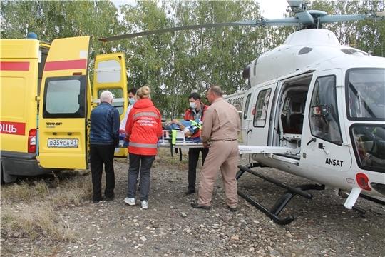 До конца ноября в Чувашии откроются две вертолетные площадки для санавиации