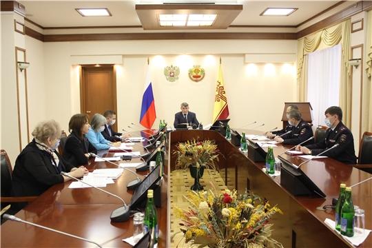 На заседании Антинаркотической комиссии министр здравоохранения Чувашии доложил о реабилитации наркозависимых