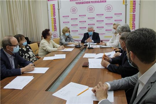 Состоялось первое заседание обновленного состава Общественного Совета при Минздраве Чувашии